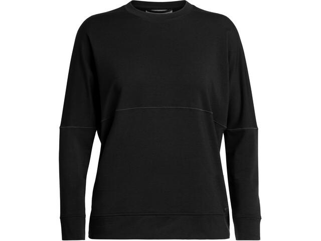 Icebreaker Momentum LS Crewe Shirt Women black